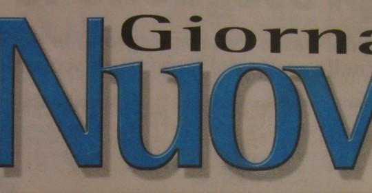 LEGGI L'ARTICOLO PUBBLICATO SUL NUOVO GIORNALE